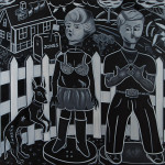 Barry-Wolfrid-Neighbors-oleo-encaustica-s-tela-145x160cm-2010
