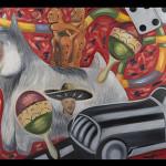 Mural La cachonda