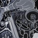 Mural La Revolución (detalle)