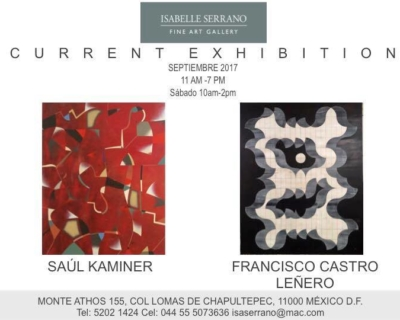 Current exhibition / Sept 2017