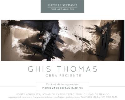 Ghis Thomas / Opening